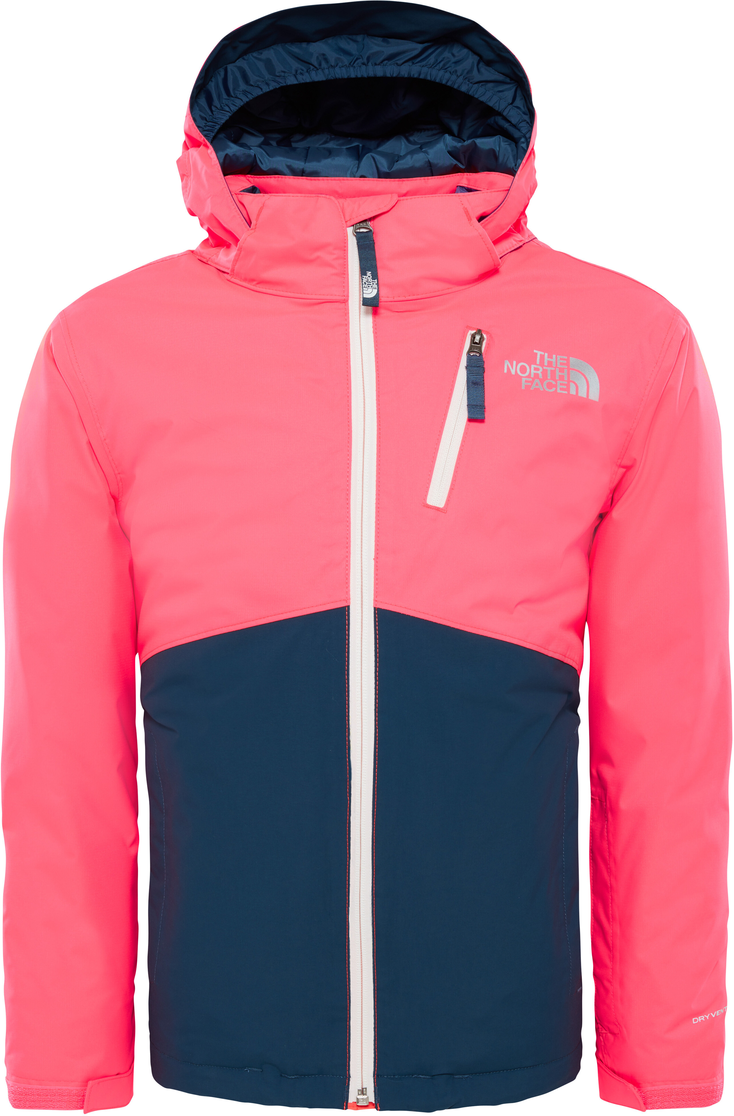 4936b61627 The North Face Snowdrift - Veste Enfant - rose/bleu sur CAMPZ !